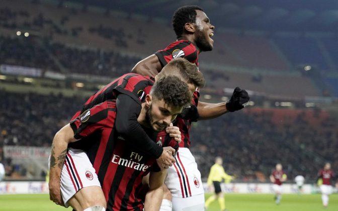 Cutrone assist-man e Borini sbrogliano la pratica Ludogorets |  Milan agli ottavi di Europa