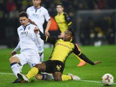 Atalanta-Borussia Dortmund formazioni ufficiali