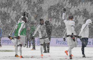 Juventus-Atalanta rinviata sarri