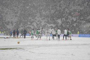 Serie B, Carpi Salernitana a rischio per neve: la situazione