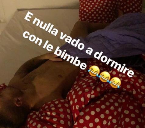 """Jessica Immobile 'sbotta' con l'attaccante  della Lazio e se ne va: """"si può dormire così?"""" [FOTO]"""