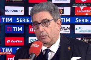 """Genoa nei guai, Perinetti: """"adesso serve un miracolo"""""""