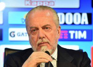 """Napoli Arsenal, De Laurentiis: """"Abbiamo affrontato partite p"""