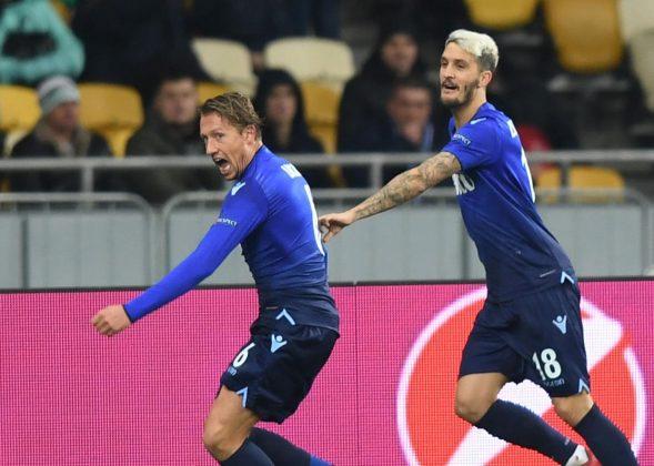 Dinamo Kiev-Lazio 0-2 pagelle