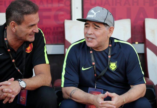 Maradona allenatore-presidente