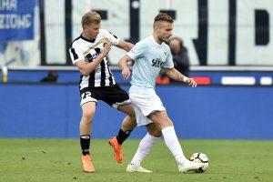 Lazio-Udinese |  le formazioni ufficiali |  schieramenti a specchio