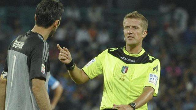 Orsato ancora a riposo in Serie A: arbitrerà in Qatar