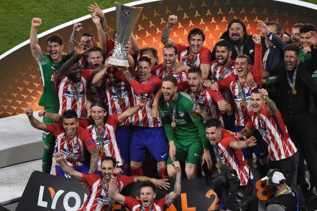 Finale Europa League |  delirio Atletico Madrid |  è grande festa |  tutte le foto GALLERY