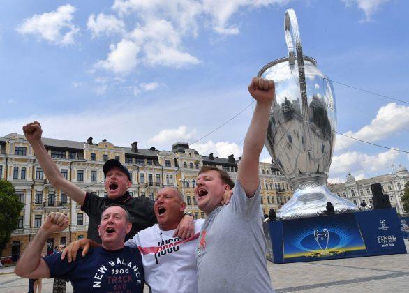 Finale Champions League |  tutto pronto a Kiev per la gara Real Madrid-Liverpool FOTO