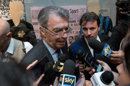 """Inter, Moratti: """"Impressionato da Sensi, ha cambiato un po'"""