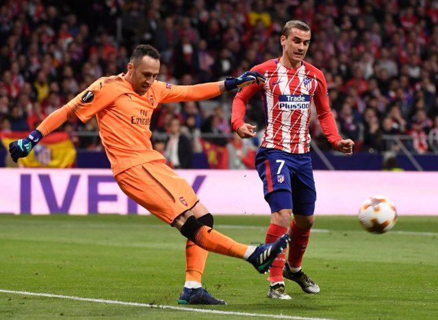 Trionfa Simeone l'Atletico supera l'Olympique di Garcia 3-0