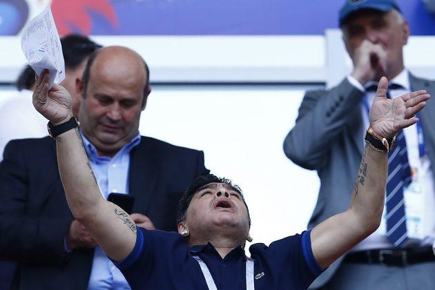 esordio Maradona