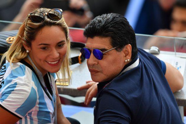 Maradona fidanzata
