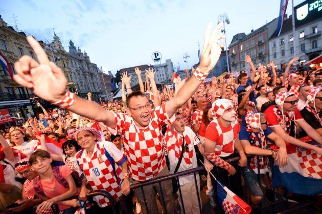 Mondiali, delirio in piazza a Zagabria dopo il trionfo della