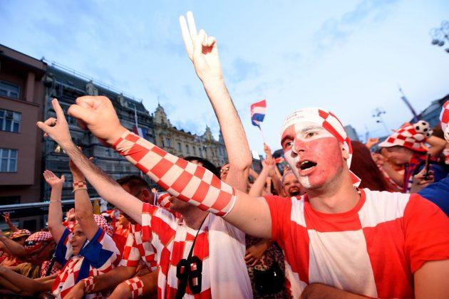 Croazia tifosi cuffie