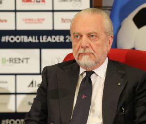 """Napoli, De Laurentiis: """"Con il fatturato della Juve avrei vi"""