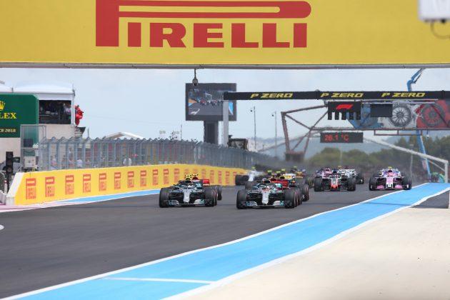 Formula 1 griglia di partenza