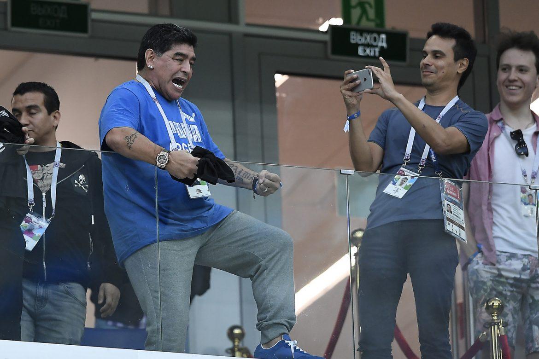 accoglienza Maradona