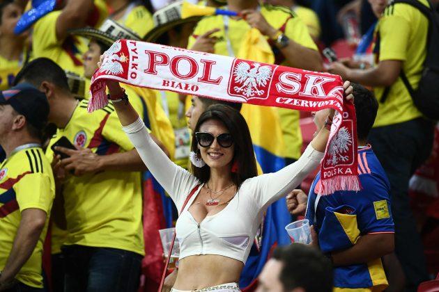 Mondiali    Polonia-Colombia    la sfida è sexy    spalti bollenti in Russia FOTO