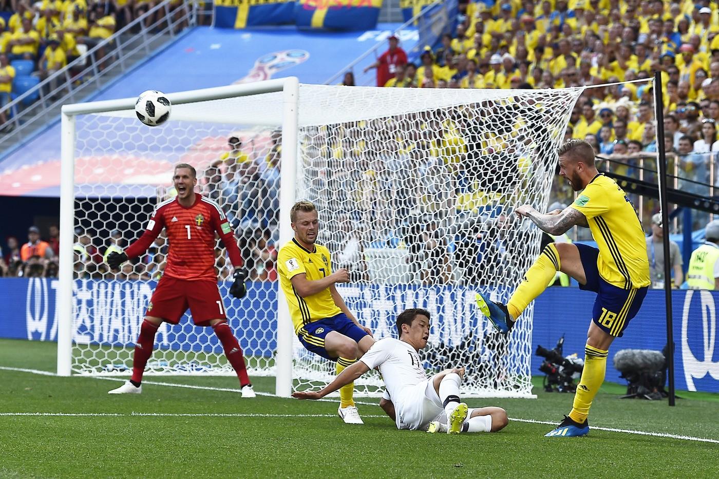 Mondiali Russia 2018, la Svezia supera la Corea con il ...