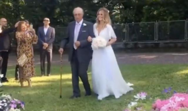Matrimonio Bossari Lagerback : Matrimonio daniele bossari filippa lagerback le immagini