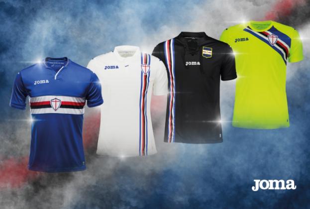 abbigliamento calcio Sampdoria originale
