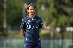 """Bologna, Inzaghi in conferenza: """"A Casteldebole gesto riprov"""