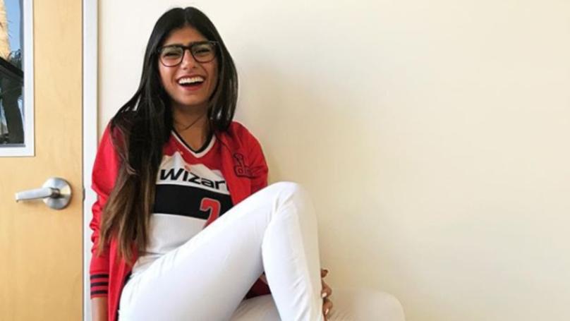 Heißer Arabischer Pornostar Mia Khalifa