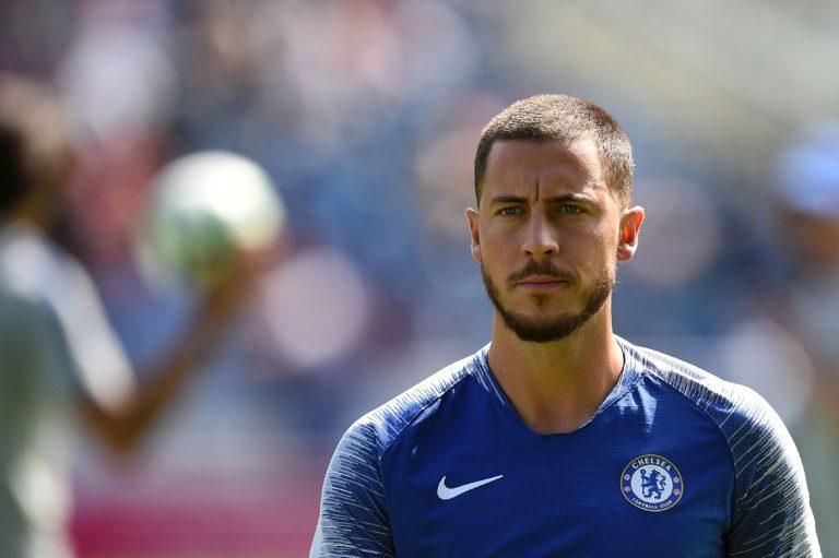 Hazard (Foto AFP/LaPresse)