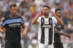 Infortunio Khedira, nuovo stop per il centrocampista della J