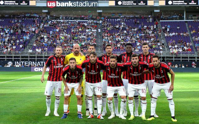 Milan Tottenham