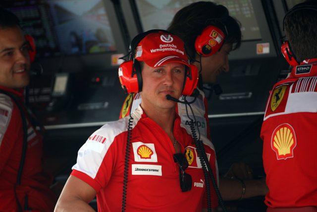 condizioni Schumacher