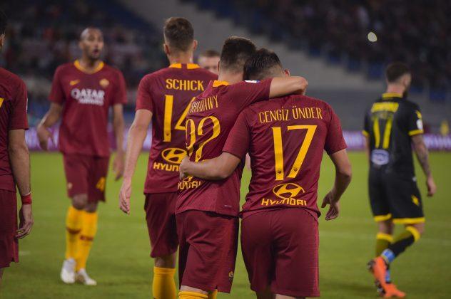 roma frosinone 4 0 le pagelle di calcioweb