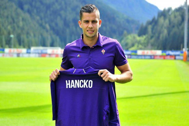 Terza Maglia Fiorentina DAVID HANCKO