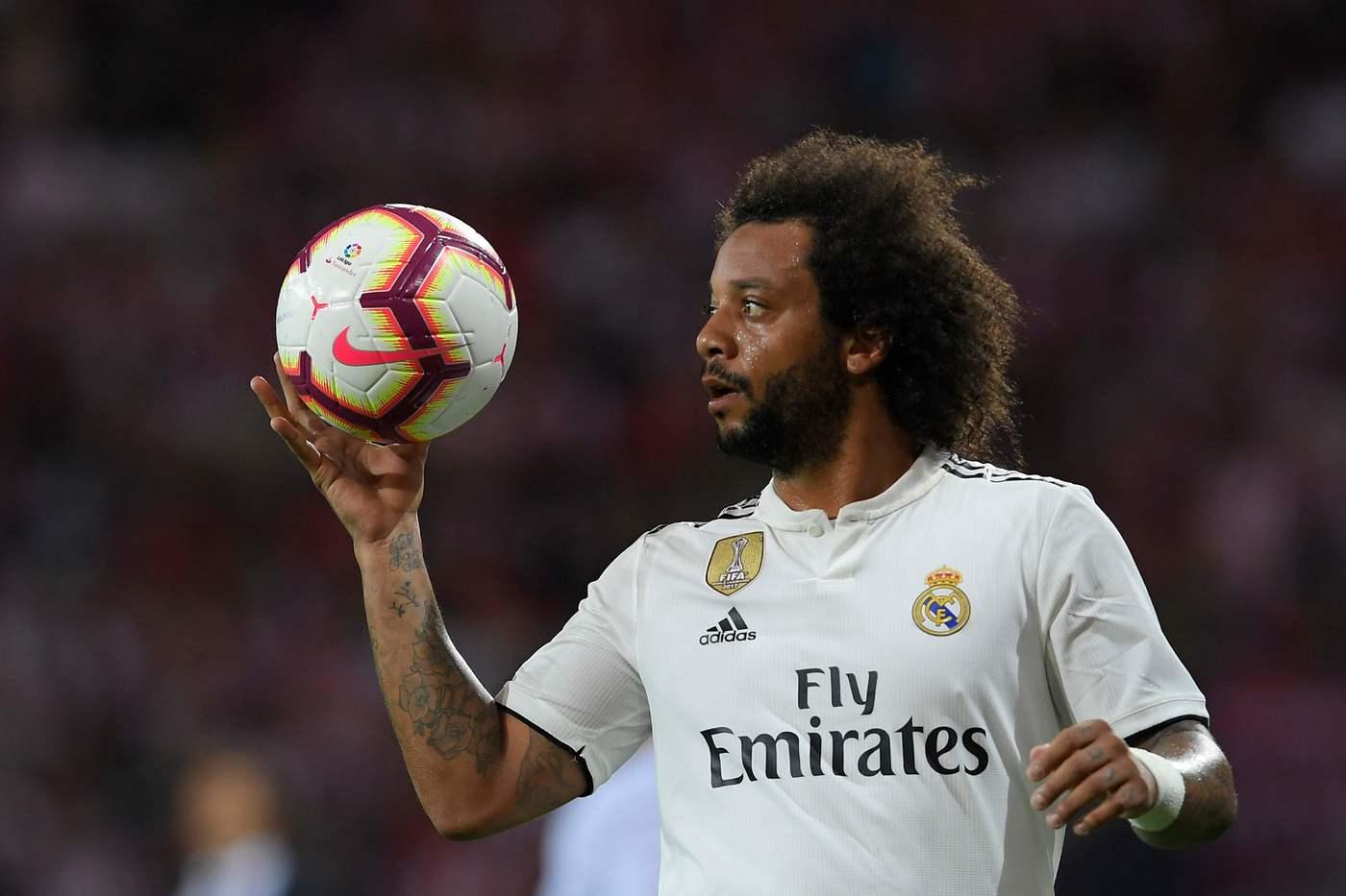 Marcelo (Foto AFP/LaPresse)