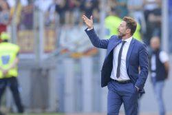 """Roma, Di Francesco respira dopo la vittoria sul Genoa: """"Ambi"""