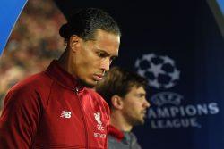 Liverpool Napoli: bruttissimo fallo di Van Dijk su Mertens,