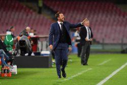 Panchina Sampdoria |  l'esito dell'incontro con l'allenatore Di Francesco