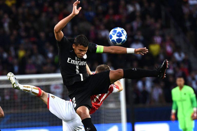 Thiago Silva (Foto AFP/LaPresse)