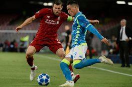 Napoli-Liverpool |  le probabili formazioni |  tornano titolari Insigne e Ghoulam