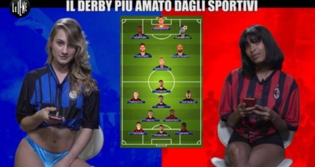 Inter-Milan Le Iene
