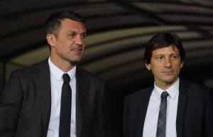 Leonardo Maldini a Milanello