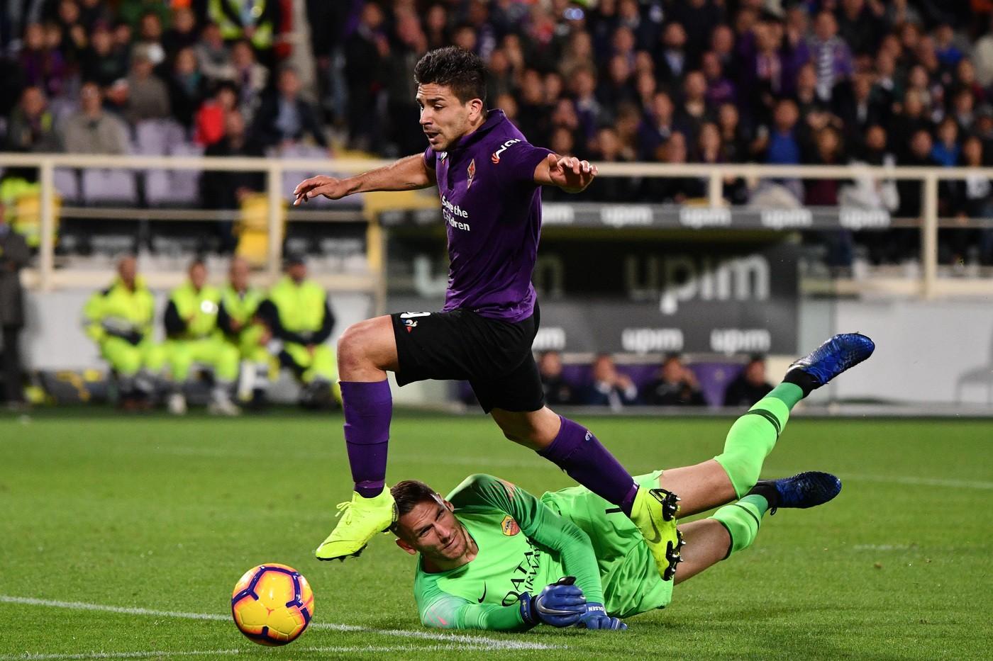 Simeone (Fiorentina) Alfredo Falcone/LaPresse