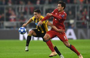 Hummels lascia Bayern