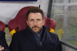 """Roma, Di Francesco in conferenza: """"Io non scappo, la squadra"""