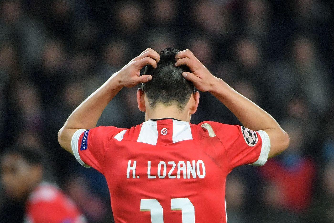 Lozano (Foto AFP/LaPresse)