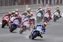 MotoGp Valencia, Dovizioso re della pioggia: Valentino Rossi