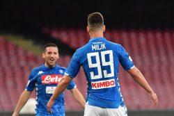 Calciomercato Napoli, Mertens e Milik in bilico: Giuntoli ce
