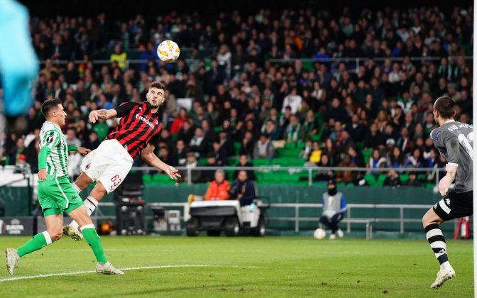 Betis-Milan diretta live