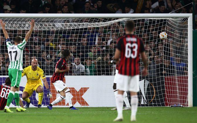Betis-Milan 1-1